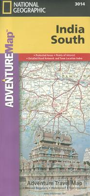 National Geographic Adventure Map South India