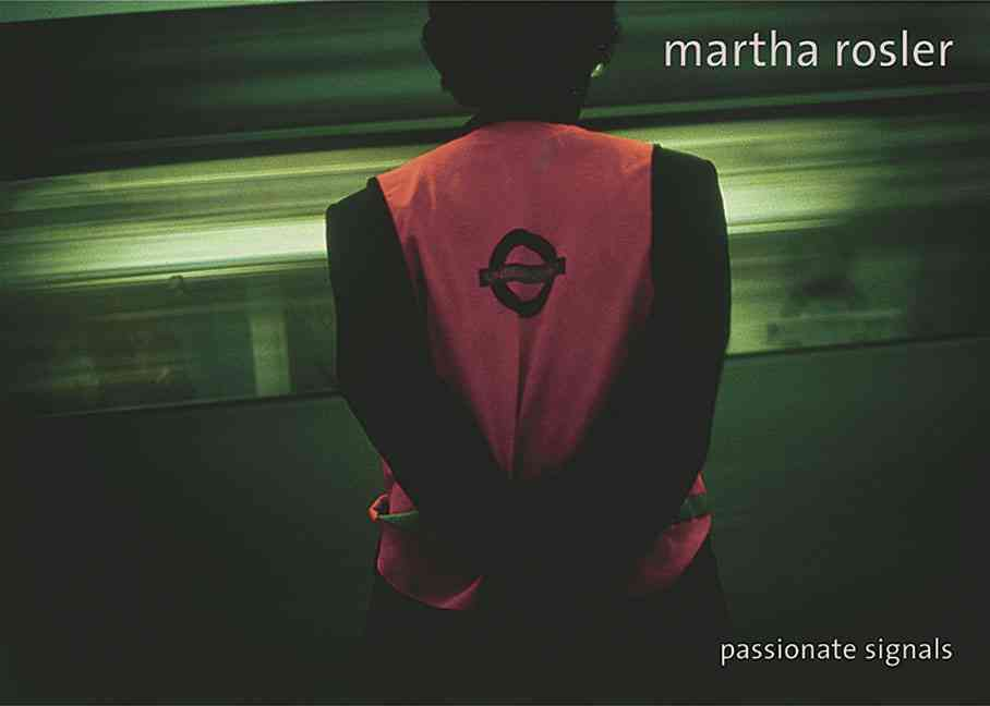 Martha Rosler By Rosler, Martha/ Schube, Inka (EDT)